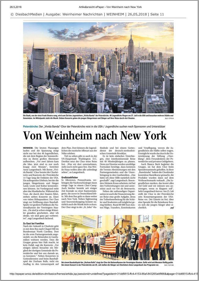 Quelle: Weinheimer Nachrichten / wnoz.de