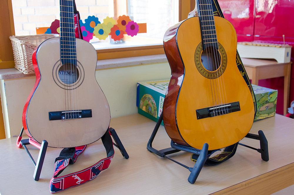 ... und Musikinstrumenten